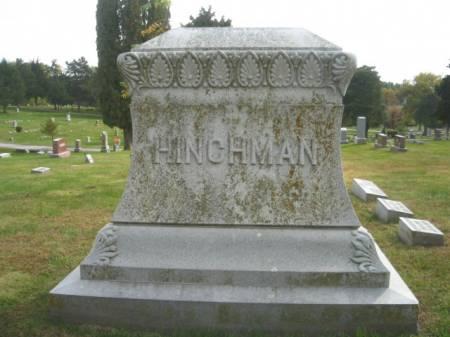 HINCHMAN, MARY - Montgomery County, Iowa | MARY HINCHMAN