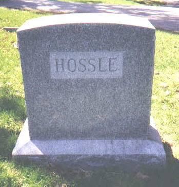 HOSSLE-BELL, MONUMENT - Montgomery County, Iowa | MONUMENT HOSSLE-BELL