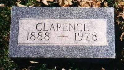 HOSSLE, CLARENCE - Montgomery County, Iowa | CLARENCE HOSSLE
