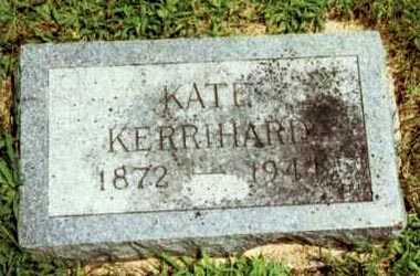 KERRIHARD, KATE - Montgomery County, Iowa   KATE KERRIHARD