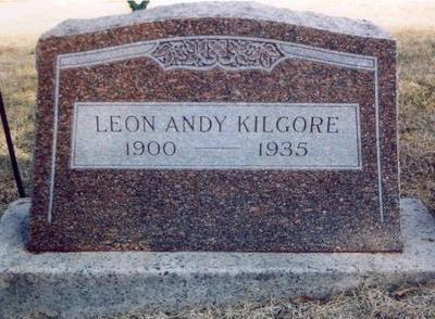 KILGORE, LEON ANDY - Montgomery County, Iowa | LEON ANDY KILGORE