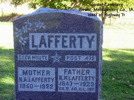 LAFFERTY, R. N. - Montgomery County, Iowa | R. N. LAFFERTY