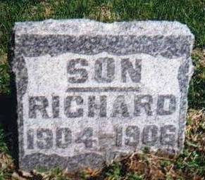 LOGAN, RICHARD - Montgomery County, Iowa | RICHARD LOGAN