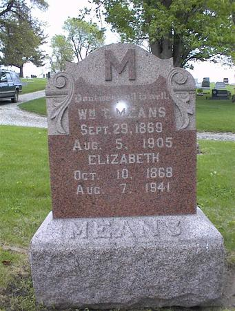 MEANS, WILLIAM T. - Montgomery County, Iowa | WILLIAM T. MEANS