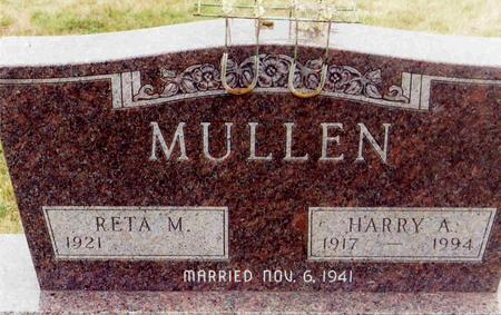 MULLEN, HARRY A. - Montgomery County, Iowa | HARRY A. MULLEN