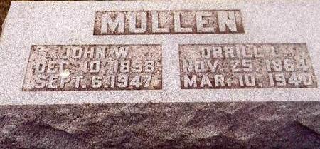 MULLEN, ORRILL L. - Montgomery County, Iowa | ORRILL L. MULLEN