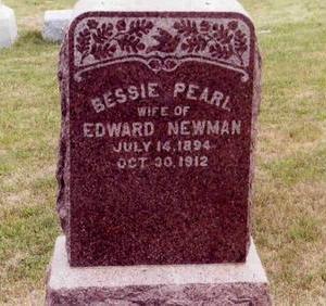NEWMAN, BESSIE P. - Montgomery County, Iowa | BESSIE P. NEWMAN