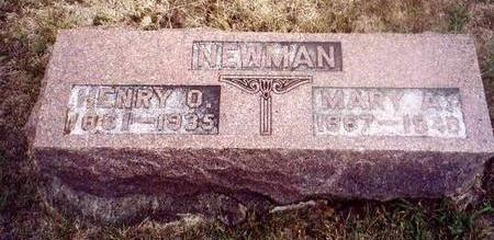 NEWMAN, MARY A. - Montgomery County, Iowa | MARY A. NEWMAN