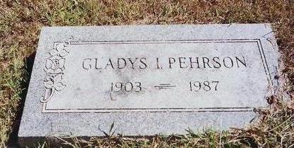 PEHRSON, GLADYS - Montgomery County, Iowa | GLADYS PEHRSON