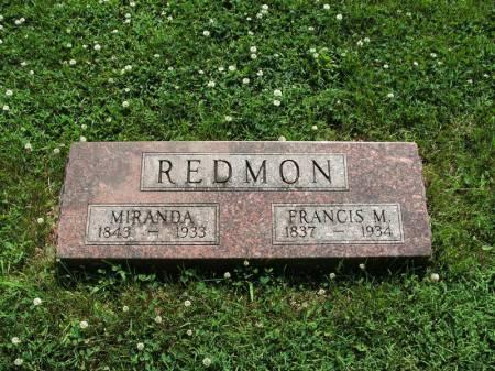 REDMON, FRANCIS M - Montgomery County, Iowa | FRANCIS M REDMON