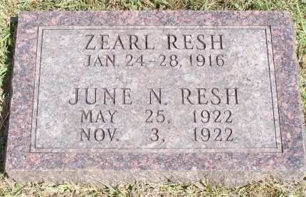 RESH, JUNE N. - Montgomery County, Iowa | JUNE N. RESH