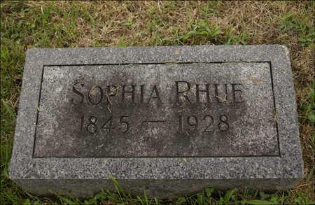 RHUE, SOPHIA WELTY - Montgomery County, Iowa | SOPHIA WELTY RHUE