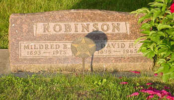 BOGGESS ROBINSON, MILDRED BERNICE - Montgomery County, Iowa | MILDRED BERNICE BOGGESS ROBINSON