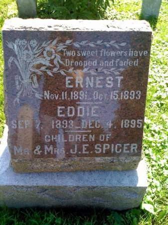 SPICER, EDDIE - Montgomery County, Iowa   EDDIE SPICER