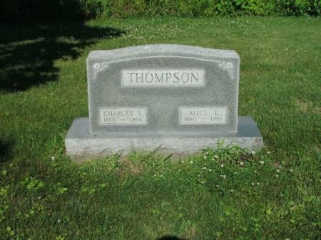 THOMPSON, ALICE E - Montgomery County, Iowa   ALICE E THOMPSON