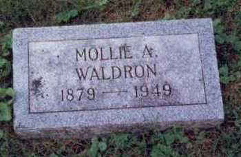 WALDRON, MOLLIE A. - Montgomery County, Iowa | MOLLIE A. WALDRON