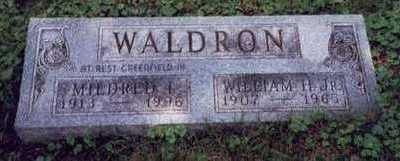 WALDRON, WILLIAM H. JR. - Montgomery County, Iowa | WILLIAM H. JR. WALDRON