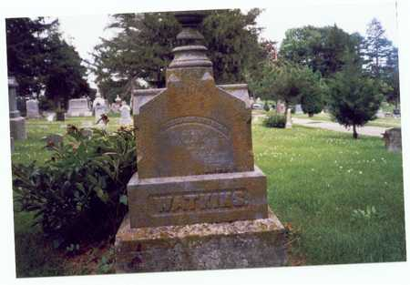 WATKINS, BERNARD - Montgomery County, Iowa | BERNARD WATKINS