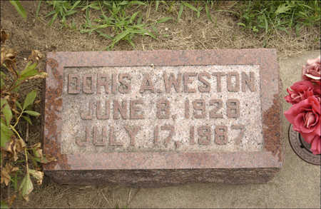 WESTON, DORIS A. - Montgomery County, Iowa | DORIS A. WESTON