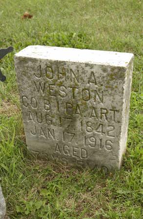 WESTON, JOHN A. - Montgomery County, Iowa | JOHN A. WESTON