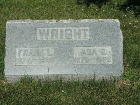 WRIGHT, FRANK L - Montgomery County, Iowa | FRANK L WRIGHT
