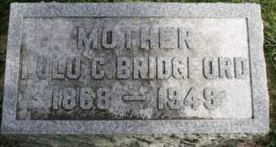 BRIDGFORD, LULU C. - Muscatine County, Iowa | LULU C. BRIDGFORD