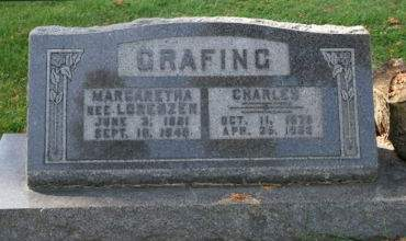 GRAFING, CHARLES - Muscatine County, Iowa | CHARLES GRAFING