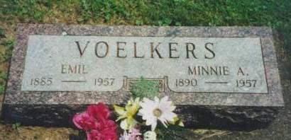 VOELKERS, EMIL - Muscatine County, Iowa | EMIL VOELKERS