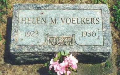 VOELKERS, HELEN M. - Muscatine County, Iowa | HELEN M. VOELKERS