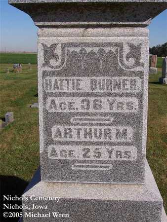ADAMS BURNER, HATTIE - Muscatine County, Iowa | HATTIE ADAMS BURNER