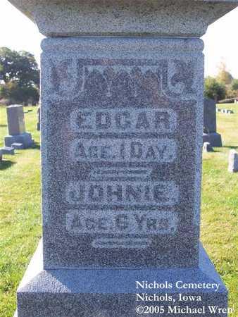 ADAMS, JOHNIE - Muscatine County, Iowa | JOHNIE ADAMS