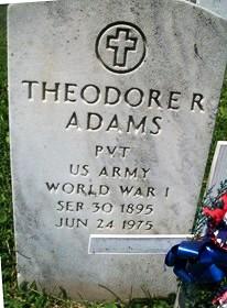 ADAMS, THEODORE RAYMOND
