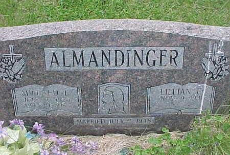 ALMANDINGER, MILLARD L. - Muscatine County, Iowa | MILLARD L. ALMANDINGER