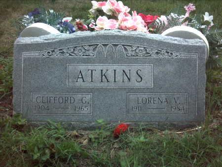 ATKINS, CLIFFORD  G. - Muscatine County, Iowa | CLIFFORD  G. ATKINS