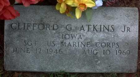 ATKINS JR., CLIFFORD  G. - Muscatine County, Iowa | CLIFFORD  G. ATKINS JR.