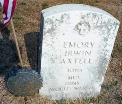 AXTELL, EMORY IRWIN - Muscatine County, Iowa | EMORY IRWIN AXTELL