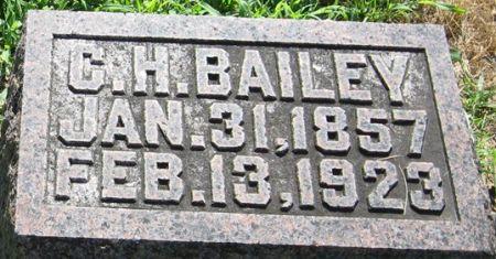 BAILEY, C. H. - Muscatine County, Iowa   C. H. BAILEY