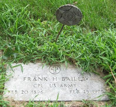 BAILEY, FRANK H. - Muscatine County, Iowa | FRANK H. BAILEY