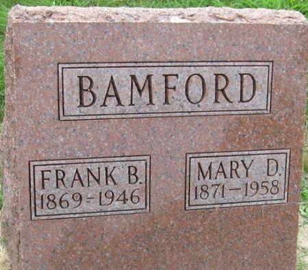 BAMFORD, FRANK B. - Muscatine County, Iowa | FRANK B. BAMFORD