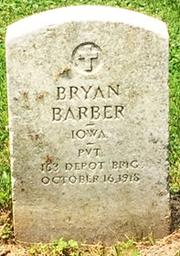 BARBER, BRYAN - Muscatine County, Iowa   BRYAN BARBER