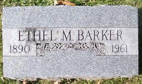 BARKER, ETHEL MAE - Muscatine County, Iowa | ETHEL MAE BARKER