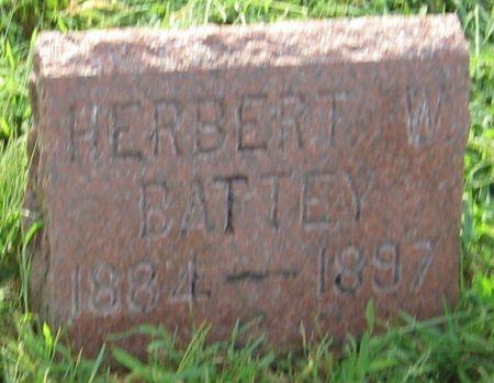 BATTEY, HERBERT W. - Muscatine County, Iowa | HERBERT W. BATTEY