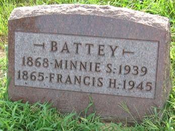 BATTEY, MINNIE S. - Muscatine County, Iowa | MINNIE S. BATTEY
