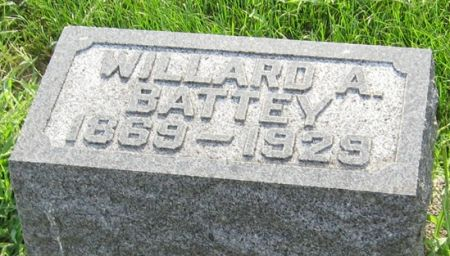 BATTEY, WILLARD A. - Muscatine County, Iowa | WILLARD A. BATTEY