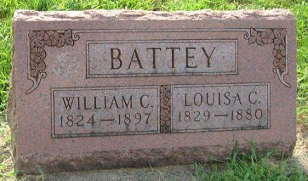 BATTEY, LOUISA C. - Muscatine County, Iowa   LOUISA C. BATTEY