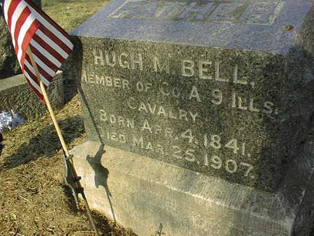 BELL, HUGH M. - Muscatine County, Iowa | HUGH M. BELL