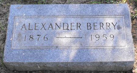BERRY, ALEXANDER - Muscatine County, Iowa   ALEXANDER BERRY