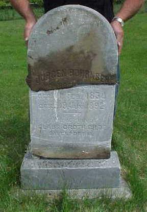BOHRNSEN, JURGEN - Muscatine County, Iowa | JURGEN BOHRNSEN