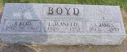 BOYD, S. JAMES - Muscatine County, Iowa | S. JAMES BOYD