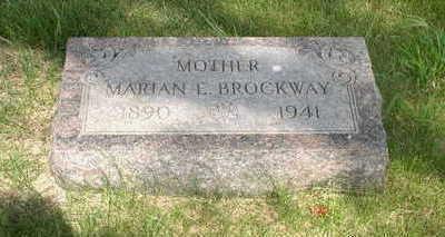 BROCKWAY, MARIAN - Muscatine County, Iowa | MARIAN BROCKWAY